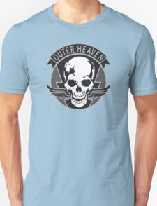 Metal Gear Solid - Outer Heaven (Gray) Unisex T-Shirt