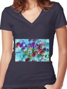 Secret Garden II Women's Fitted V-Neck T-Shirt
