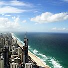 View from the 77th floor by bambiisme