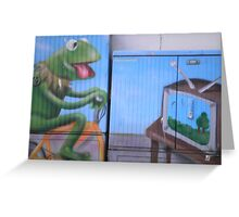 frogged Greeting Card
