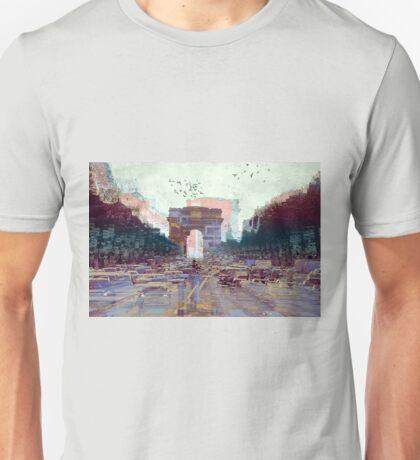 Parisian Mosaic - Piece 25 - Les Champs-Élysées Unisex T-Shirt