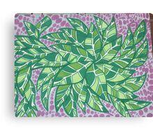 Unique leaffsss Canvas Print