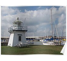 Port Clinton Lighthouse Poster