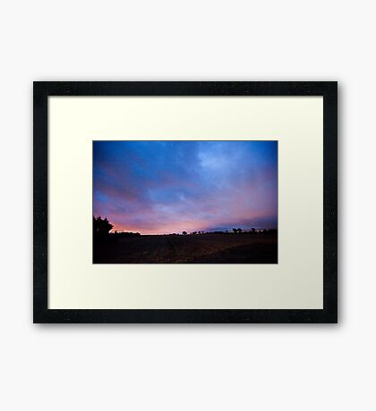 Peamount Early Morning Framed Print
