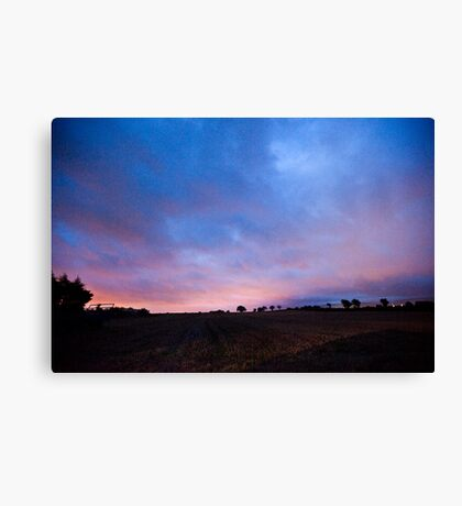 Peamount Early Morning Canvas Print