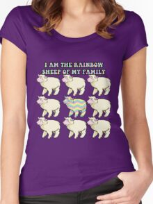 Rainbow child Women's Fitted Scoop T-Shirt