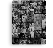 SMITE Comics Moment Montage Canvas Print