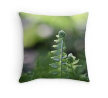 awakenings at the end of the day Throw Pillow