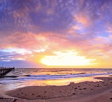 Glenelg Beach by joel Durbridge