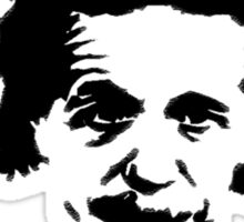 albert einstein Sticker