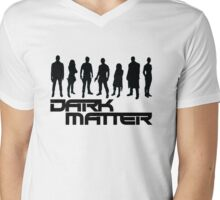 dark matter - black Mens V-Neck T-Shirt