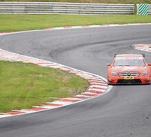 Mercedes DTM Touring Car - Brands Hatch by DanRedrup