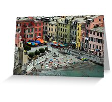 Vernazza - Cinque Terre, Italy Greeting Card