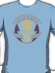 Metal Gear Solid - Outer Heaven (Alternate coloring, transparent) T-Shirt