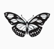 Butterfly Print Kids Tee