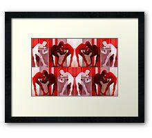 Body Language 32 Framed Print