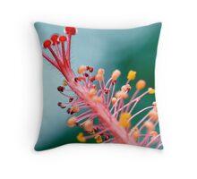 Hibuscus Beautifull  Throw Pillow
