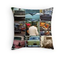 Back to the Bricks 2010 Collage Throw Pillow