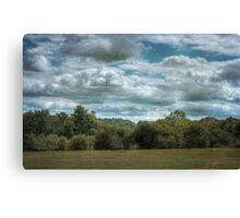 Golfcourse Cloudscape Canvas Print