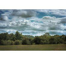 Golfcourse Cloudscape Photographic Print