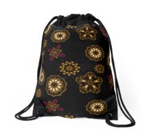 Snow Kaleidoscope  Drawstring Bag