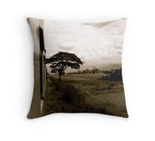 The Road Less Travelled Throw Pillow