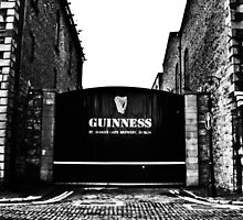 Dublin in Mono: Guinness - St. James's Gate Brewery  by Denise Abé