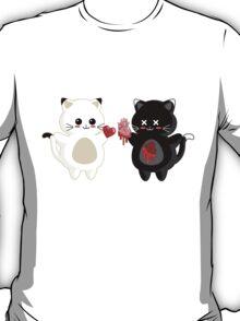 Kawaii Kitty Valentine Exchange T-Shirt