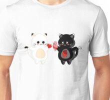 Kawaii Kitty Valentine Exchange Unisex T-Shirt