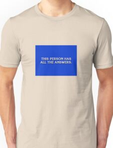 Game Show Winner Unisex T-Shirt