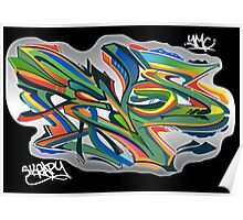 Revos Graffiti Full Color Style Poster