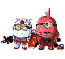 angry minion by rambulrebes