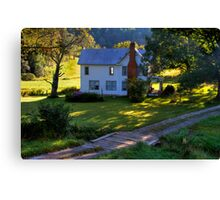 House in the Country Canvas Print