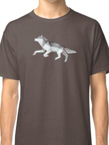 Low Poly Watercolor - Wolf Classic T-Shirt