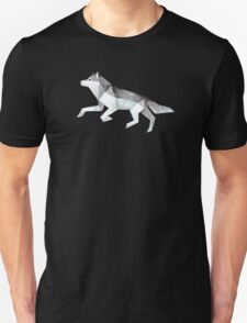 Low Poly Watercolor - Wolf Unisex T-Shirt