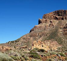 El Teide, Landscape by Janone