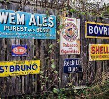 Vintage Signs by Adrian Evans