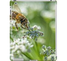 Bee taking in nectar iPad Case/Skin
