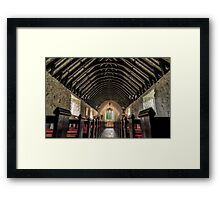 The Old Chapel Framed Print