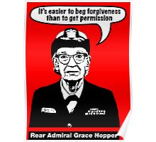 Grace Hopper Poster