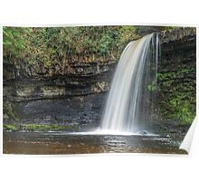 Sgwd Gwladys Waterfall Vale of Neath Poster