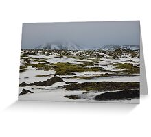 Iceland Nature Greeting Card