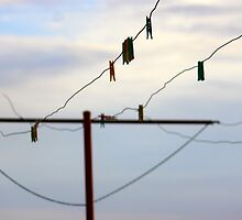 Pegs on a line  by KellyMac01