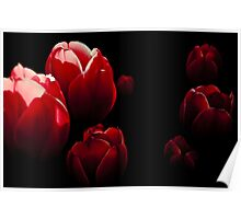 Unreal flowers Poster
