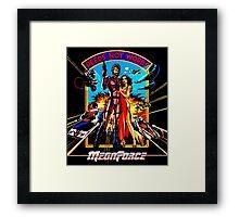 Megaforce Framed Print