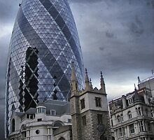 The old and the new by Paul Hickson
