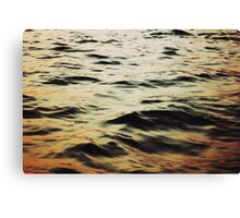 just waves Canvas Print