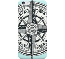 Compass with Sun  iPhone Case/Skin