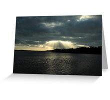 the beauty that surrounds you Greeting Card