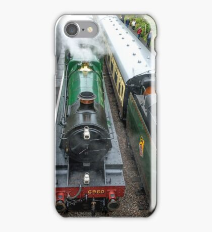 Steam Engine Cotswolds iPhone Case/Skin